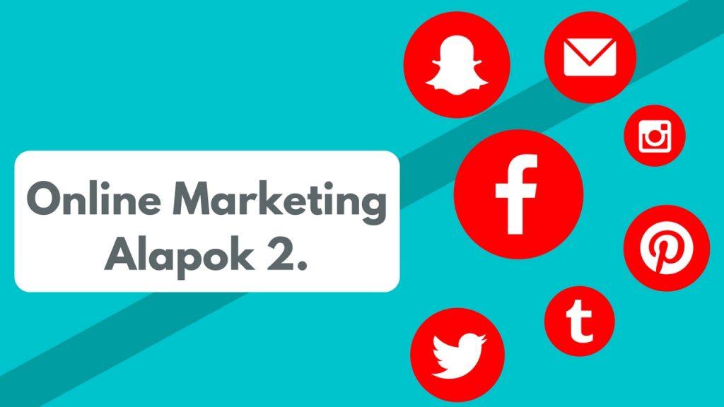 online marketing alapok